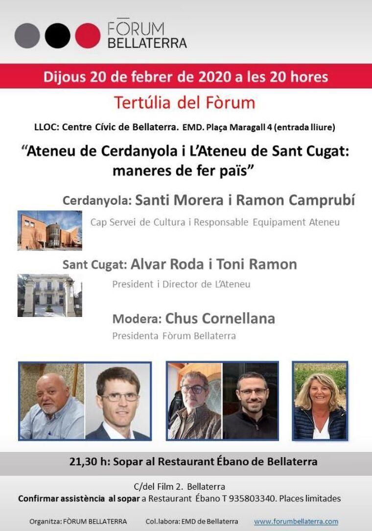 Cartell de la pròxima edició del Fòrum Bellaterra