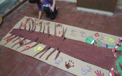 Fotos i agraïment del Grup Escolta Bellaterra per participar a la Castanyada 2018