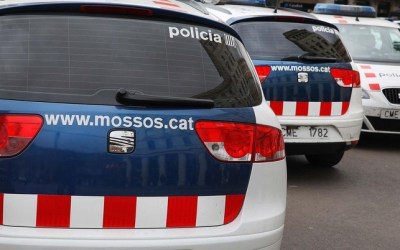 Mossos interrompen un suposat robatori a l'àrea de servei de Bellaterra a l'AP-7