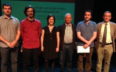 El bellaterrenc Gabriel Martínez guanya els Premis Literaris 2017
