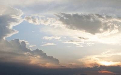 Cap de setmana marcat pels núvols i per l'augment de les temperatures