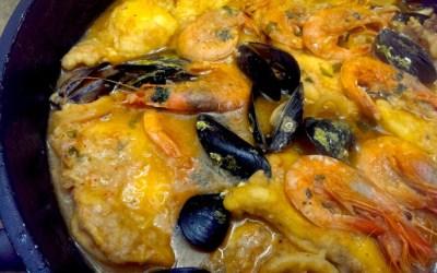 Sarsuela de peix i marisc, un clàssic pel Nadal