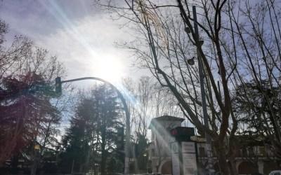 Temps radiant per Nadal a Bellaterra