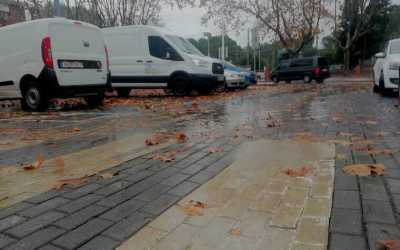 Protecció civil avisa per perill moderat per pluja i vent a Bellaterra