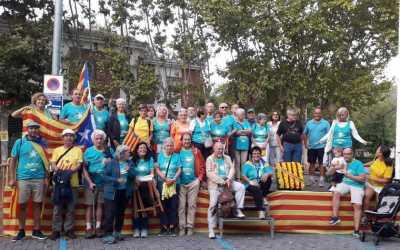 L'ANC de Bellaterra transporta els bellaterrencs a Barcelona per l'11-S