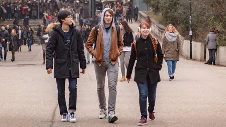 Estudiants d'intercanvi a la UAB