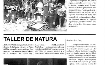 Recordeu com es vivien i s'explicaven les festes de Bellaterra? FM 2002: mercadet antic