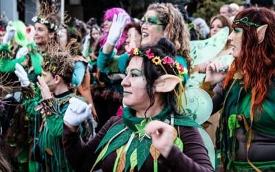 Màgia i alegria en un multitudinari Carnaval de desenfrè