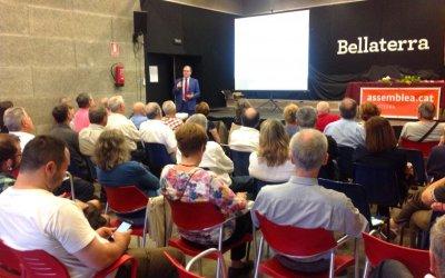 Bellaterra omple la sala gran en la xerrada del Cercle Català de Negocis