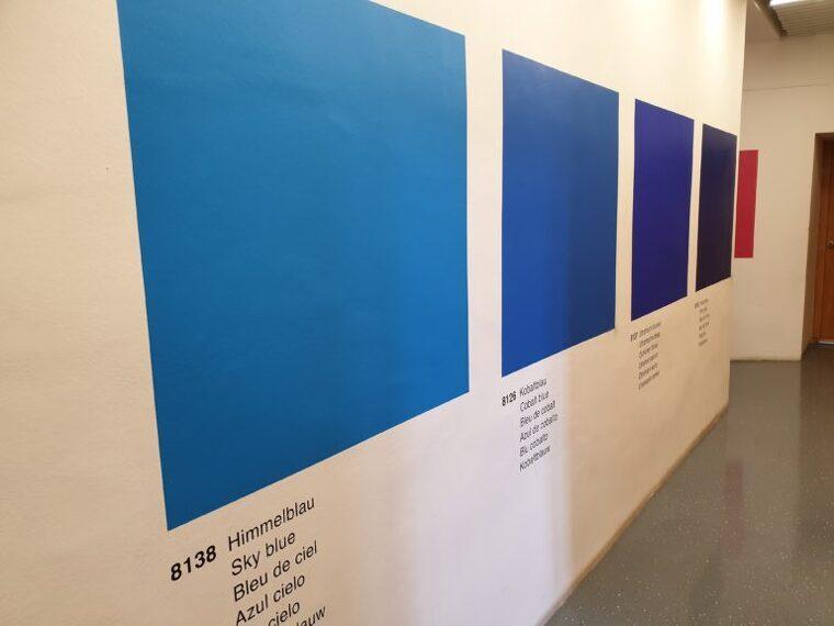 Ignasi Aballí, 'Carta de Colors'