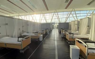 El Taulí demana mantenir l'hospital de campanya fins l'hivern per si hi ha un rebrot