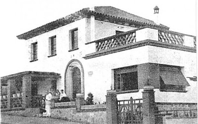 Les primeres cases de Bellaterra