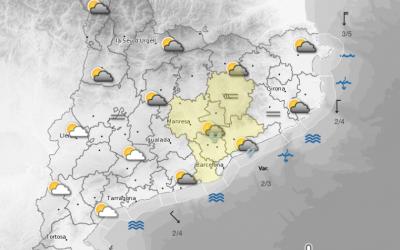 Probabilitat de nevades aquest dijous a Bellaterra!