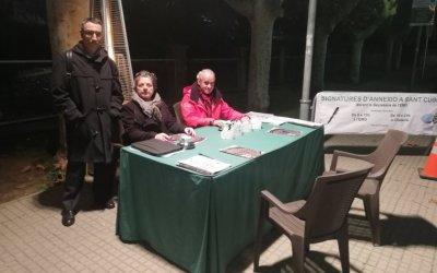 Finalitza la recollida de signatures per l'annexió a Sant Cugat