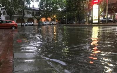 Una important tempesta d'estiu deixa incidències a Bellaterra