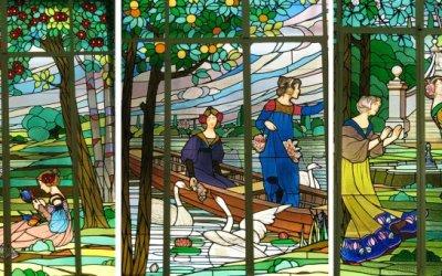 """Declaren """"Bé Cultural d'Interès Nacional"""" els famosos vitralls modernistes de Cerdanyola"""