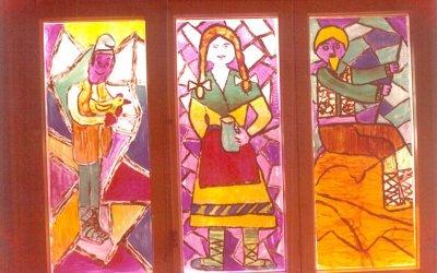 Les vidrieres del Tagore, omplien de llum les nits nadalenques