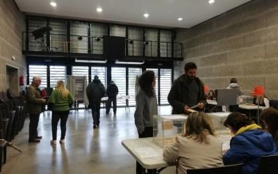 Els veïns de Bellaterra ja voten a les eleccions generals del 10N