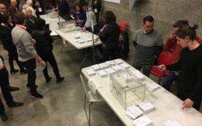 Junts per Catalunya s'imposa a Bellaterra amb 723 vots