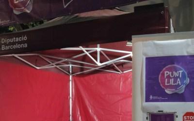 Bona acollida del primer Punt Lila per la Festa Major de Bellaterra