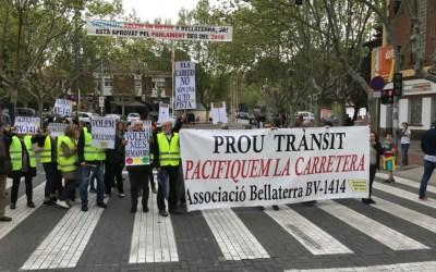 """""""Mantenim converses amb l'Ajuntament per millorar la carretera"""""""