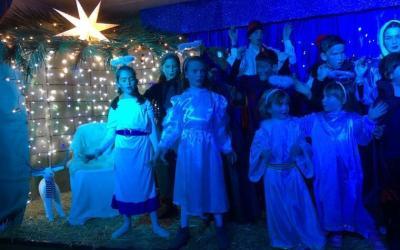 La dotzena representació d'Els Pastorets al Turó de Sant Pau és a tocar