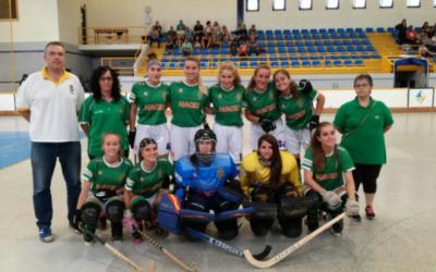 El femení B del Cerdanyola Club d'Hoquei cau en les semifinals de la Copa Generalitat