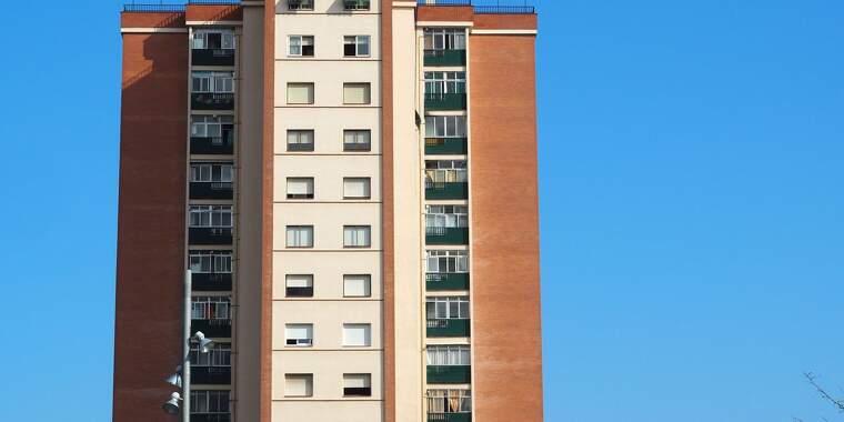 Un bloc de pisos a Cerdanyola del Vallès