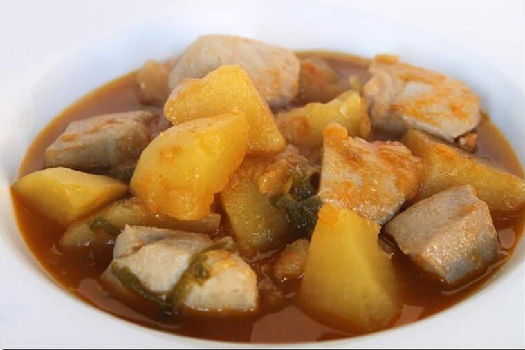 Un plat de marmitako tradicional