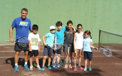 Les classes de tennis tornen a Bellaterra