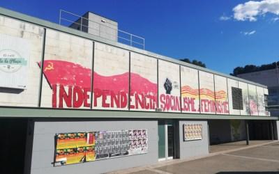 La Junta Electoral fa retirar les pintades de la Universitat Autònoma
