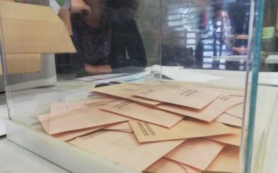 Els candidats de Bellaterra al Senat ja han votat a les eleccions del 28-A