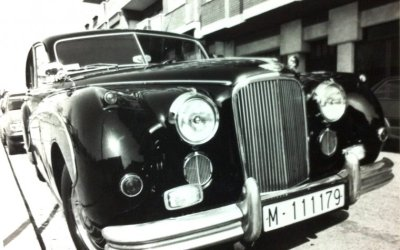 Autos del meu record a Bellaterra: JAGUAR MARK VII de 1953