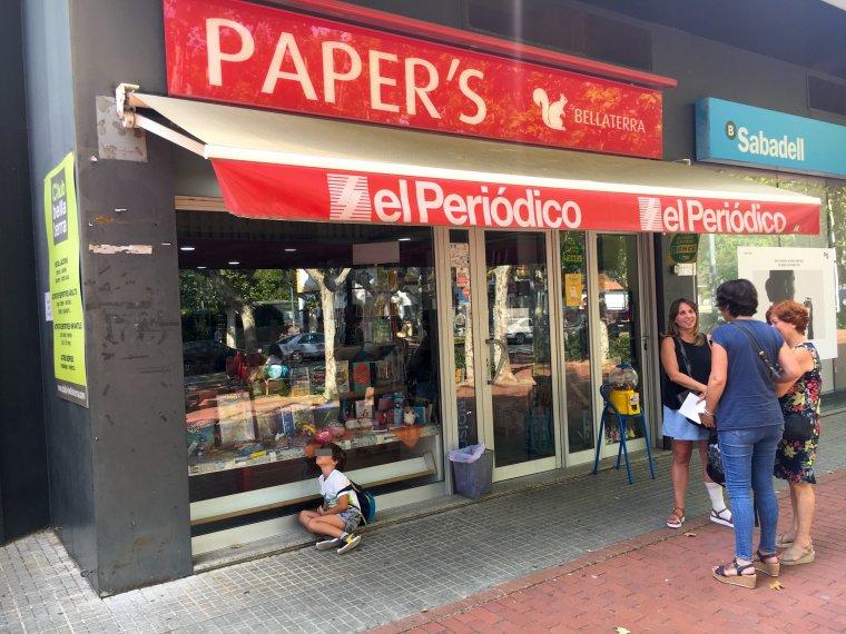 La llibreria i papereria Paper's de Bellaterra