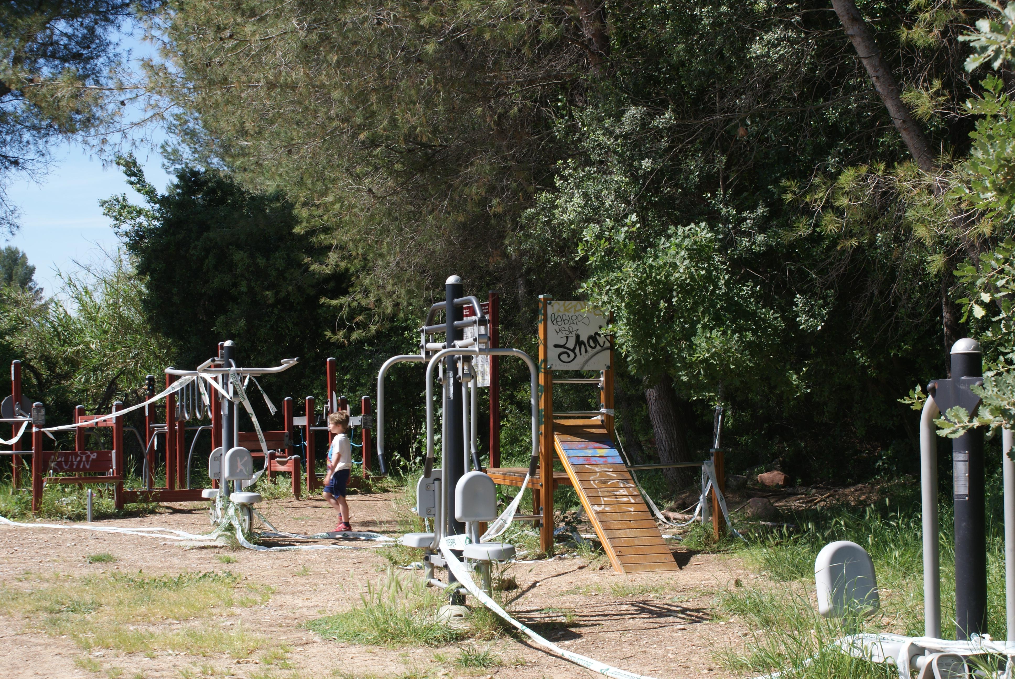 Els parc infantils han estat precintats durant l'estat d'alarma | Toni Alfaro