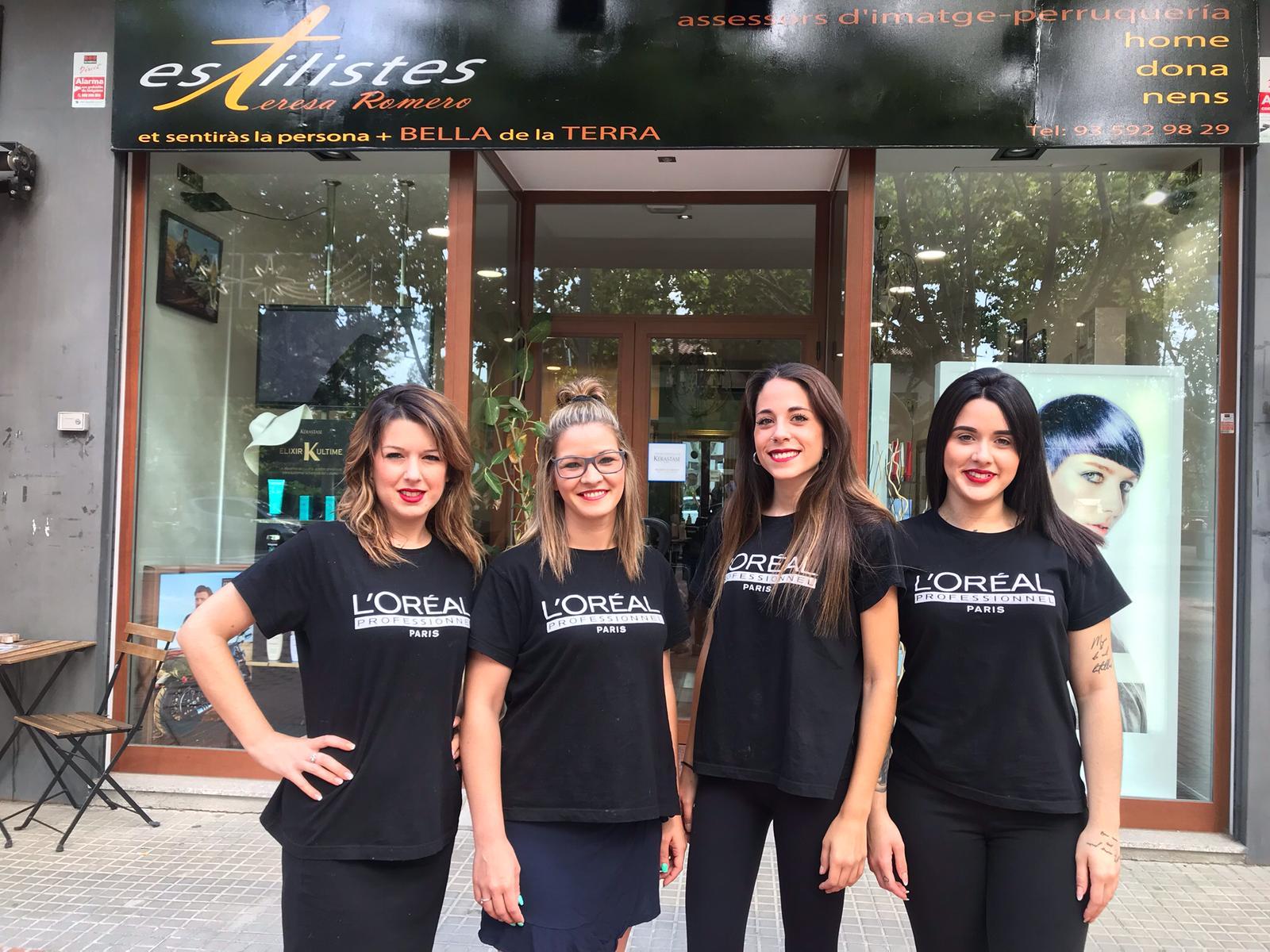 Les treballadores de la perruqueria Teresa Romero estan a la teva disposició   Cedida