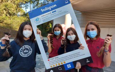 La Vall recull 63 cabelleres pels malalts de càncer