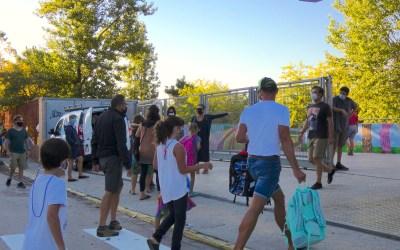 Gairebé 200 persones confinades a les escoles de Bellaterra