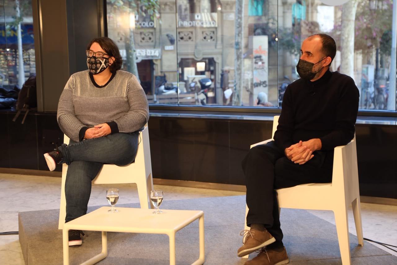 Sílvia Navarro i Jose Ignacio Garzón han estat els guanyadors del V premi Frederic Roda | Diputació de Barcelona