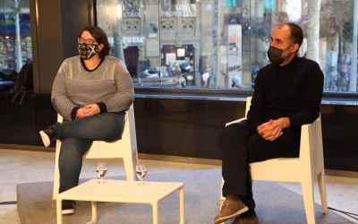 Sílvia Navarro i Jose Ignacio Garzón, guanyadors del V premi Frederic Roda