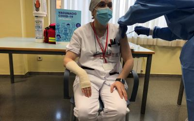 150 persones ja han rebut la vacuna a Cerdanyola i Bellaterra
