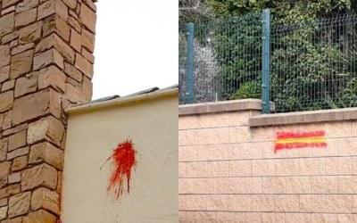 Pintada i atac a la mateixa casa en 5 dies
