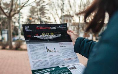 El BellaterraDiari en paper del mes de febrer del 2021
