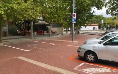 Nova Zona Taronja d'aparcament a Bellaterra