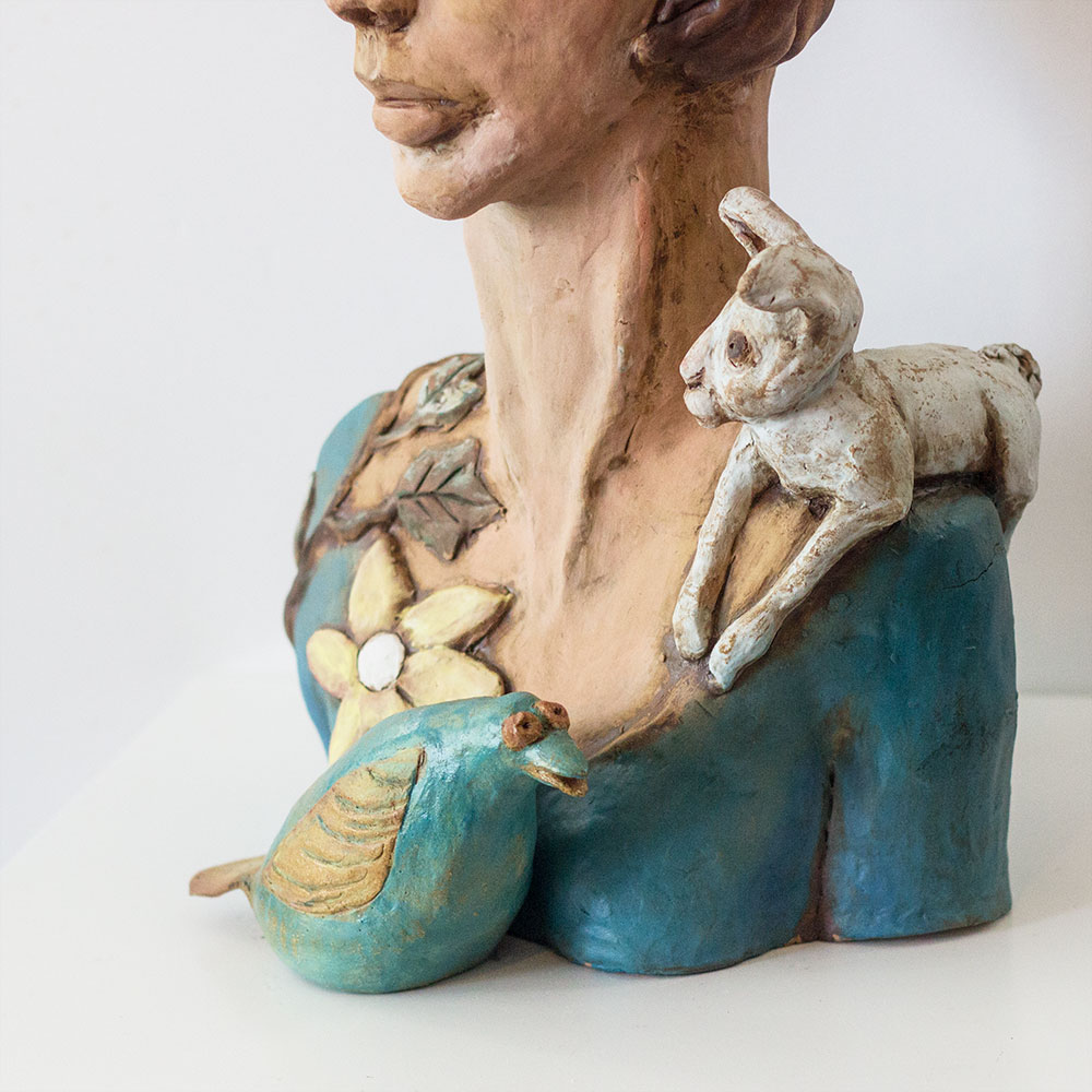 Busts by Linda Roberts