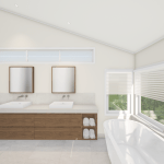3D RENDER | NEWMARKET BATHROOM