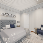 3D RENDER | ASCOT MASTER BEDROOM