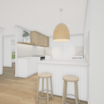3D RENDER | SPRINGFIELD LAKES KITCHEN