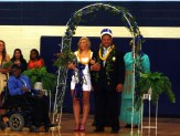 HOMECOMING: Crowning the queen and king