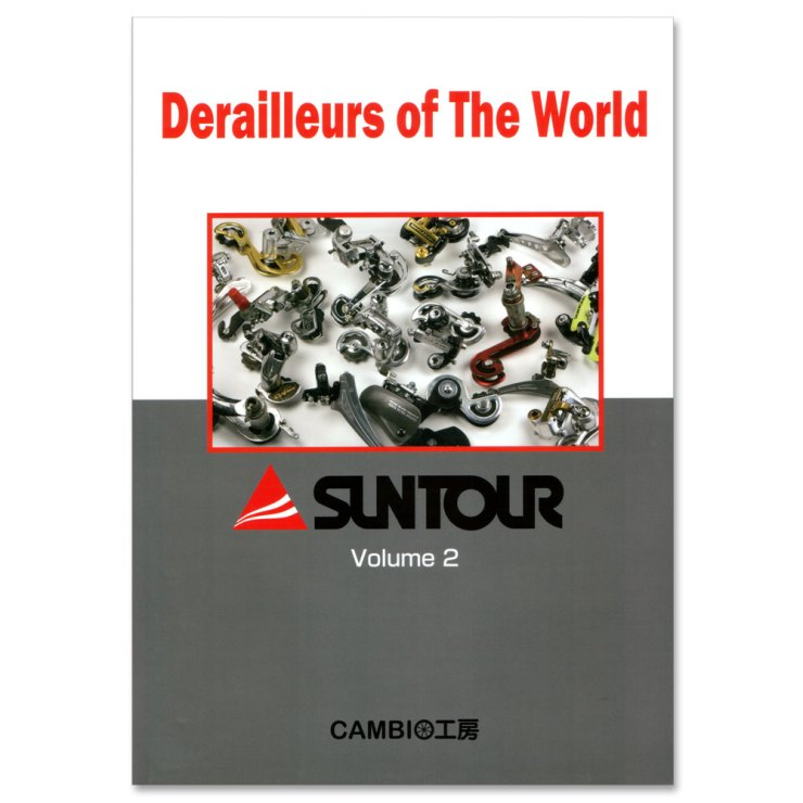 Derailleurs of the world - Suntour volume 2